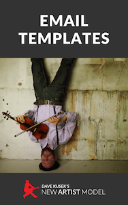 email templates for musicians