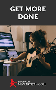 musician's guide to getting more done