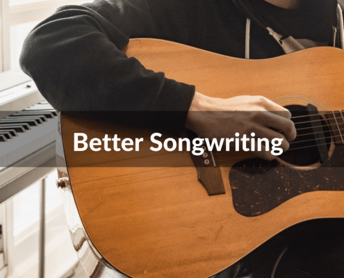 tips for better songwriting from New Artist Model