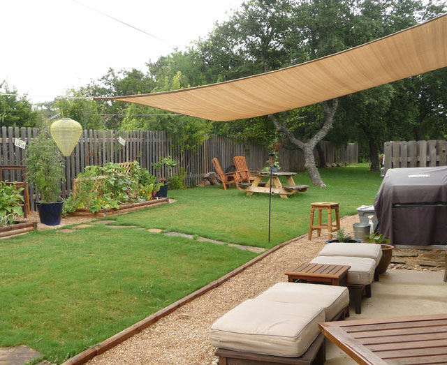 what can you attach a sail shade to