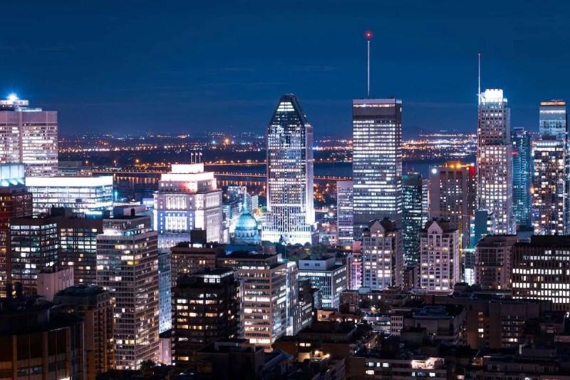 Skyline Centre Ville Montreal - Fonte: Banco de imagens