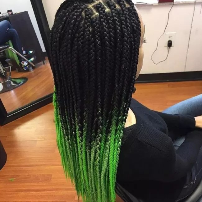 25 Gorgeous Ombre Braiding Hair Unusual Way Of Wearing