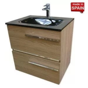 24 inch SAMARA BATHROOM VANITY COLOR ESTEPA SOCIMOBEL SA-024ES