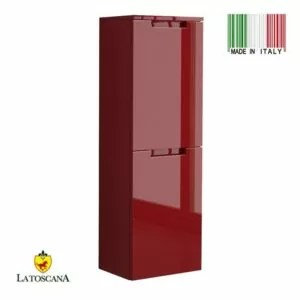 LaToscana OACI linen tower Color Glossy Red OCAO-24R