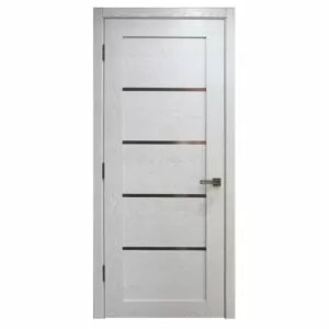 Palermo White Oak Finish Modern Interior Door