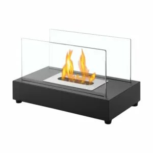 Tower Black Series - Ventless Tabletop Ethanol Fireplace