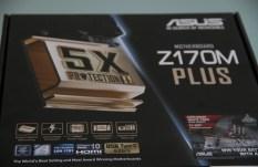 ASUS Z170M-Plus Micro ATX Motherboard Box