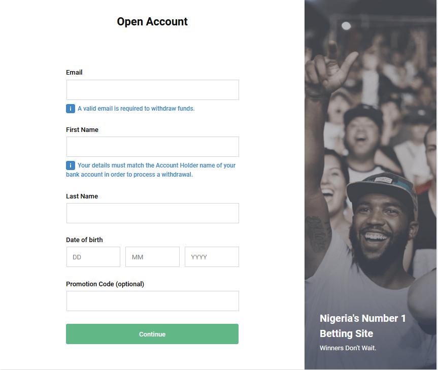 new bet9ja site