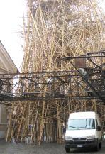 Bamboo installation.