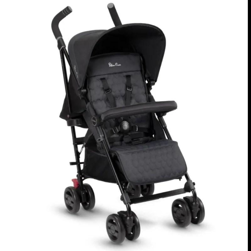 Silver Cross - Pop Stroller Black