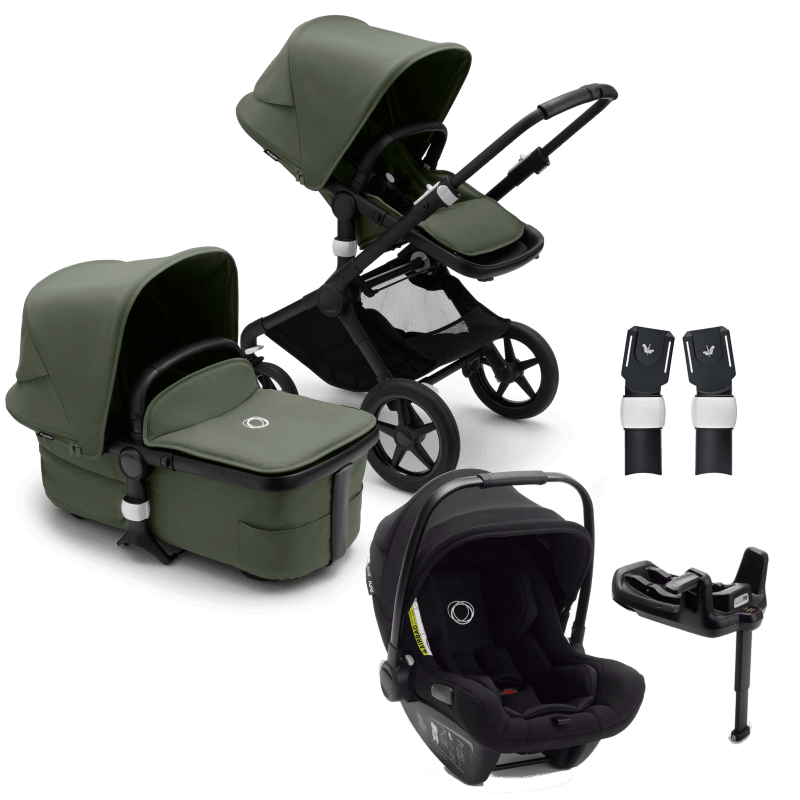 Bugaboo Fox 3 – Forest Green with Turtle Car Seat