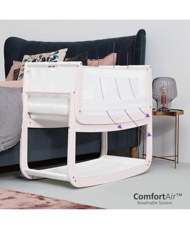 Snuzpod4 Bedside Crib with Mattress