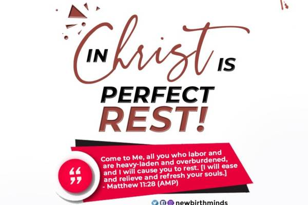 REST THROUGH CHRIST