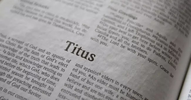 Who Was Titus and What Do We Know About Him? –  Tamela Turbeville