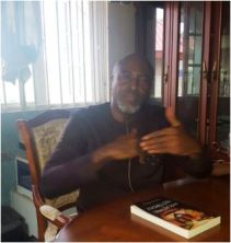 Tony Nwaka talking about his new book