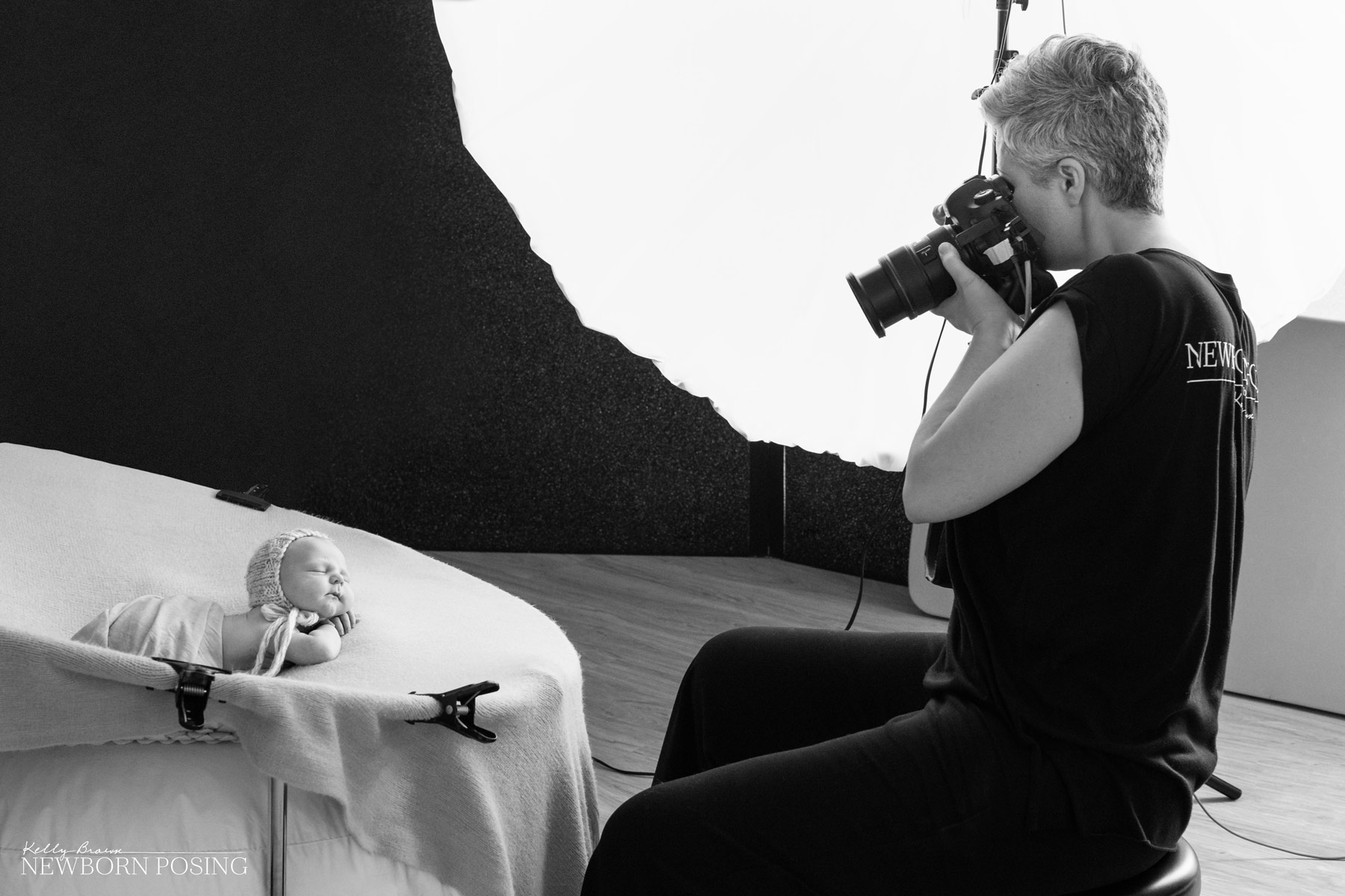 which lights for newborn photography