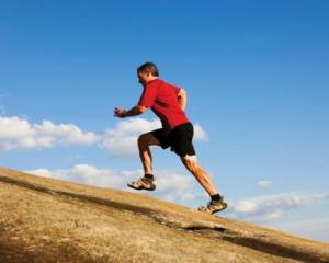 Run hill