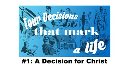 A Decision for Christ