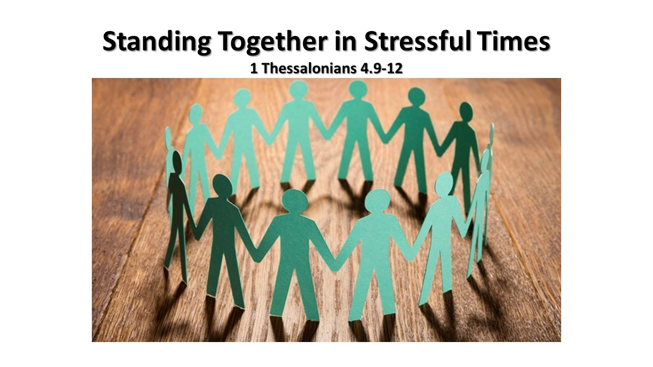 Standing Together in Stressful Times