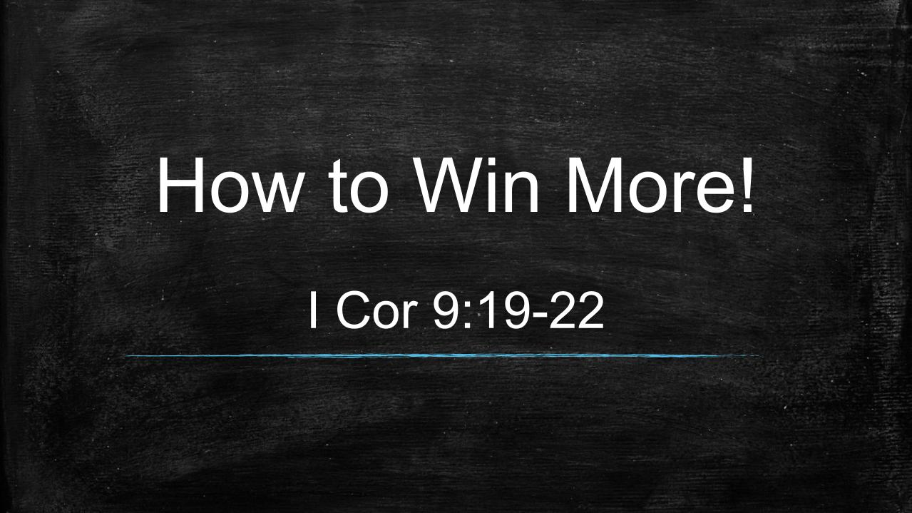How to Win More!