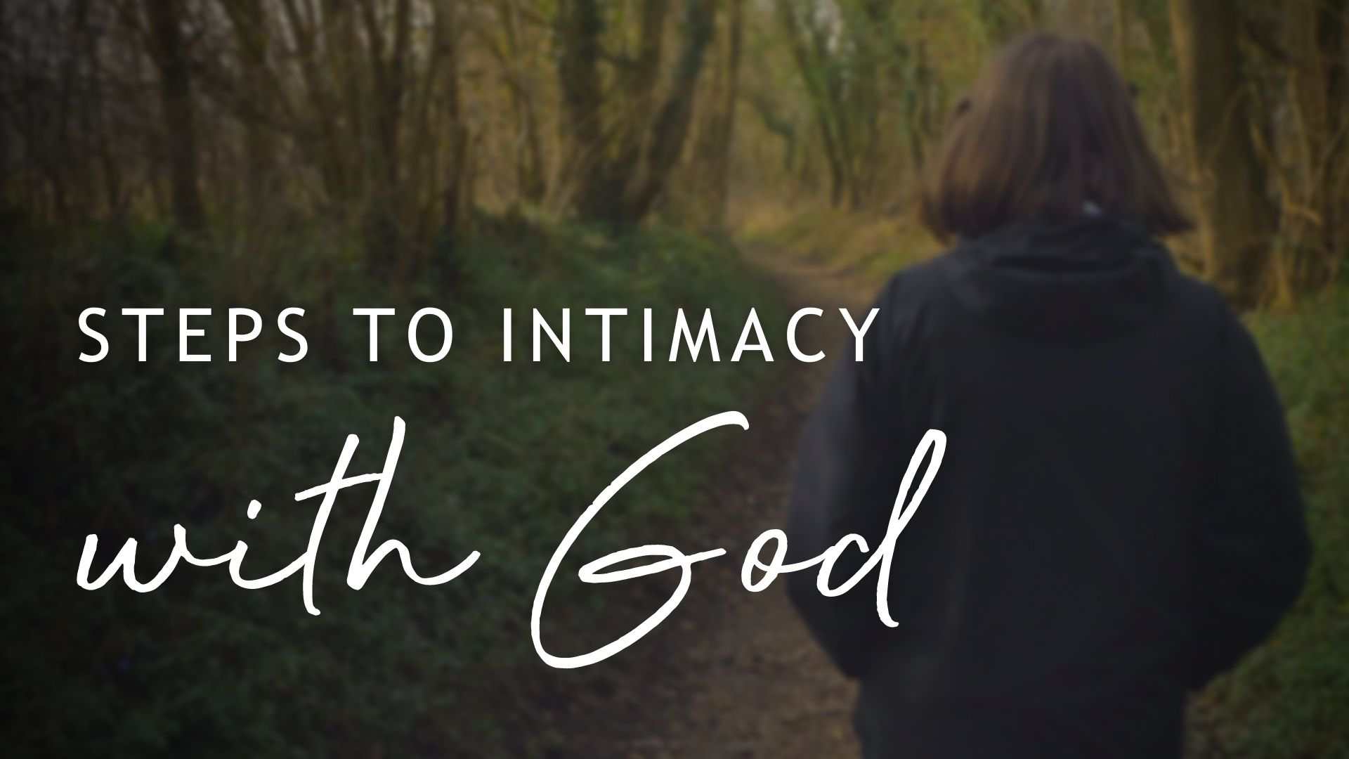 Pursuing Intimacy in Prayer, with Phil Congdon