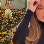 Kylie Jenner turns her home full of sunflowers - A gift from Travis Scott? 15