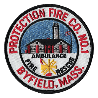 Byfield Protectoin Fire Co. Number 1 Patch