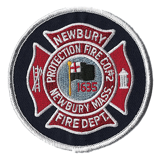 Newbury Protection Fire Co. Number 2 Patch