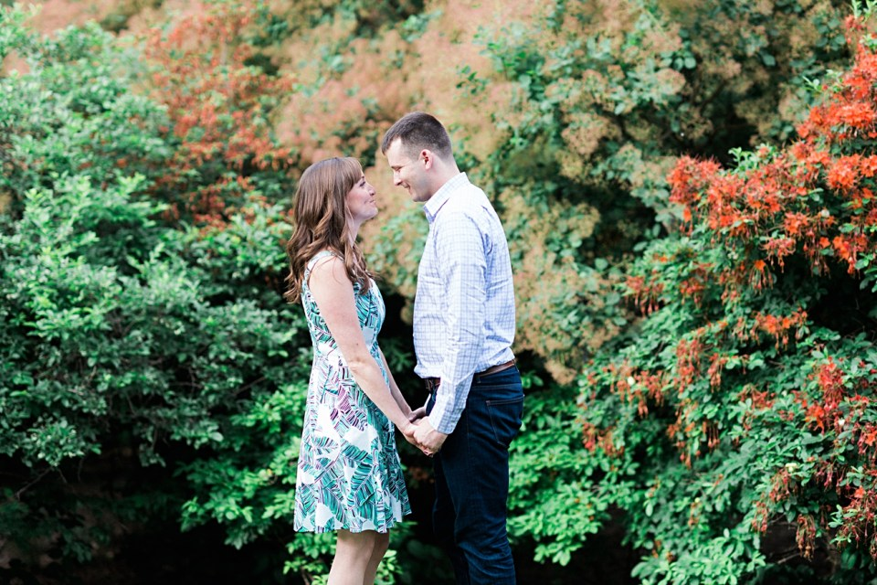 Boston Engagement Photos at the Arnold Arboretum | Emerald Necklace