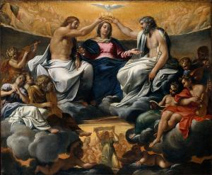 the-coronation-of-the-virgin-annibale-carracci