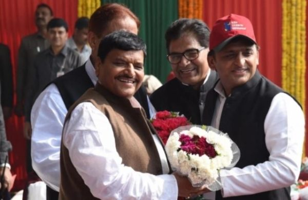 File photo of akhilesh yadav and shivpal yadav