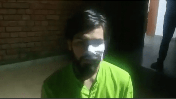 JNU Student attacked by ABVP