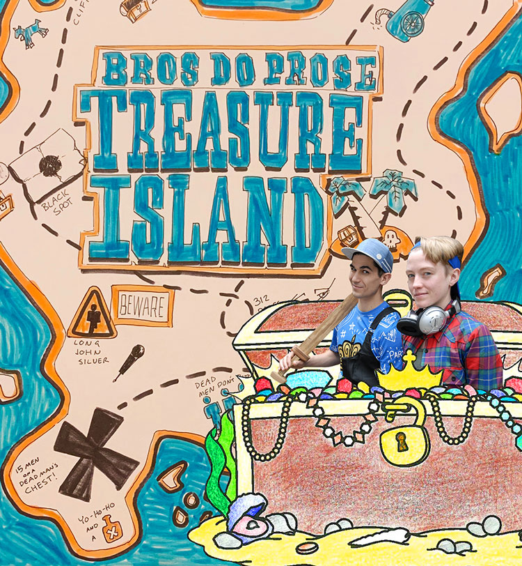 Preview Performance of Treasure Island - New Canaan Library