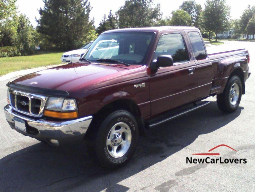 2000 ford ranger towing capacity