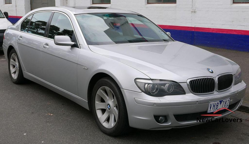 bmw 7 series facelift side picture