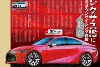 2023 Lexus IS 250 Release date