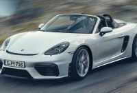 2023 Porsche Boxster Spyder Exterior