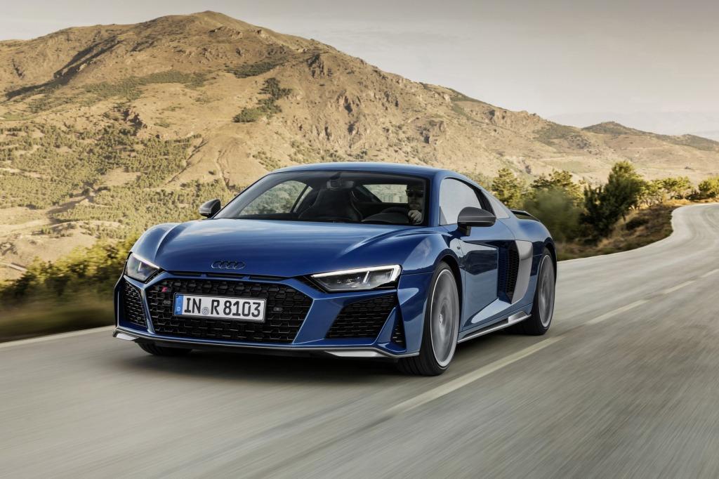 2023 Audi R8 Interior