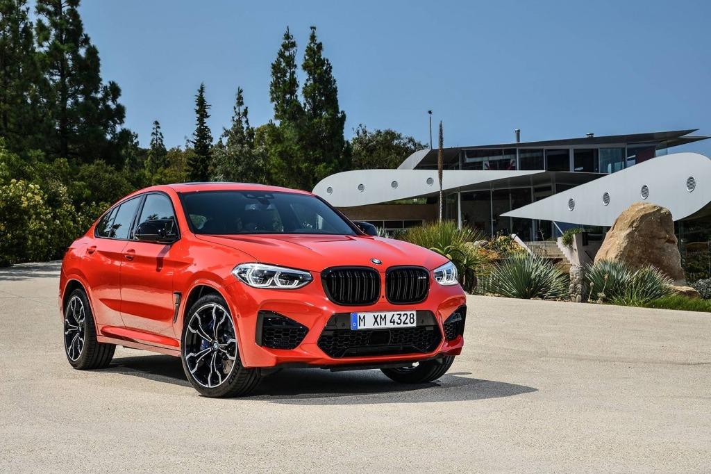 2023 BMW X4 Spy Shots