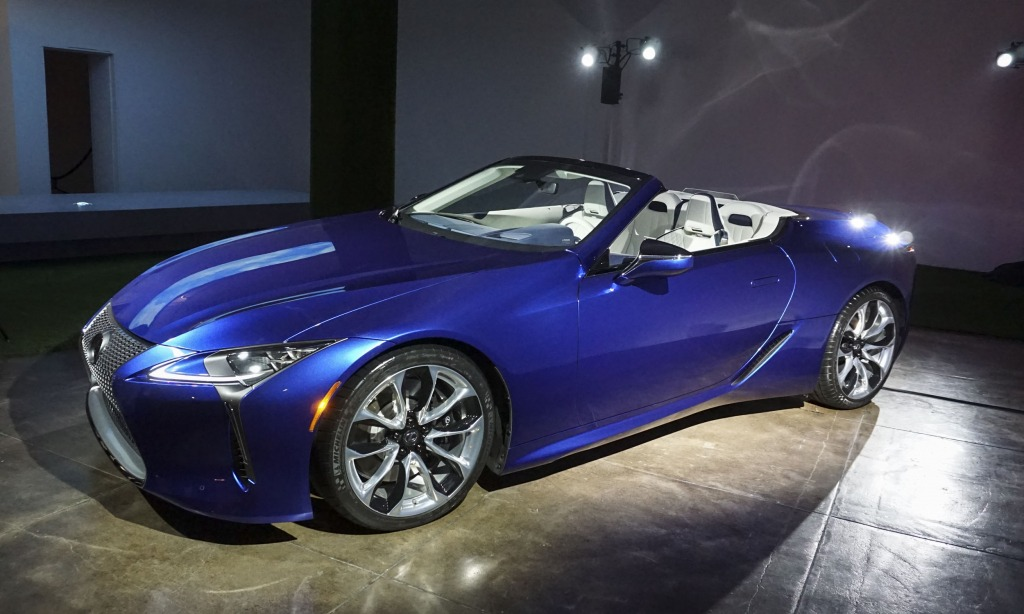 2023 Lexus LFLC Interior