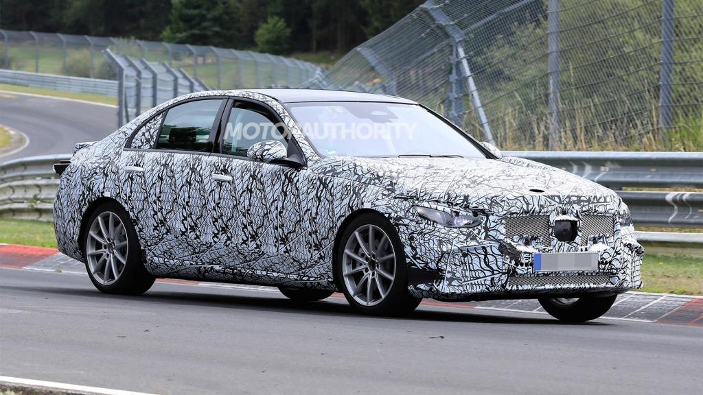 2023 MercedesBenz CClass Spy Shots