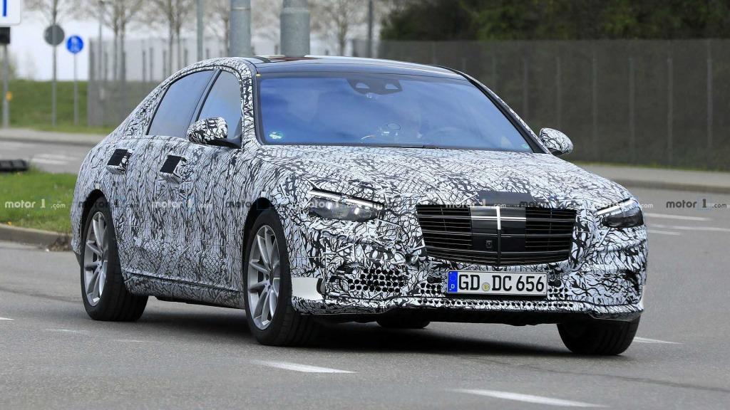 2023 MercedesBenz SClass Spy Shots