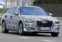 2021 MercedesBenz SClass Spy Shots