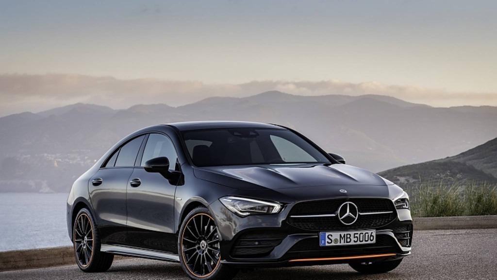2023 Mercedes CLA 250 Spy Shots