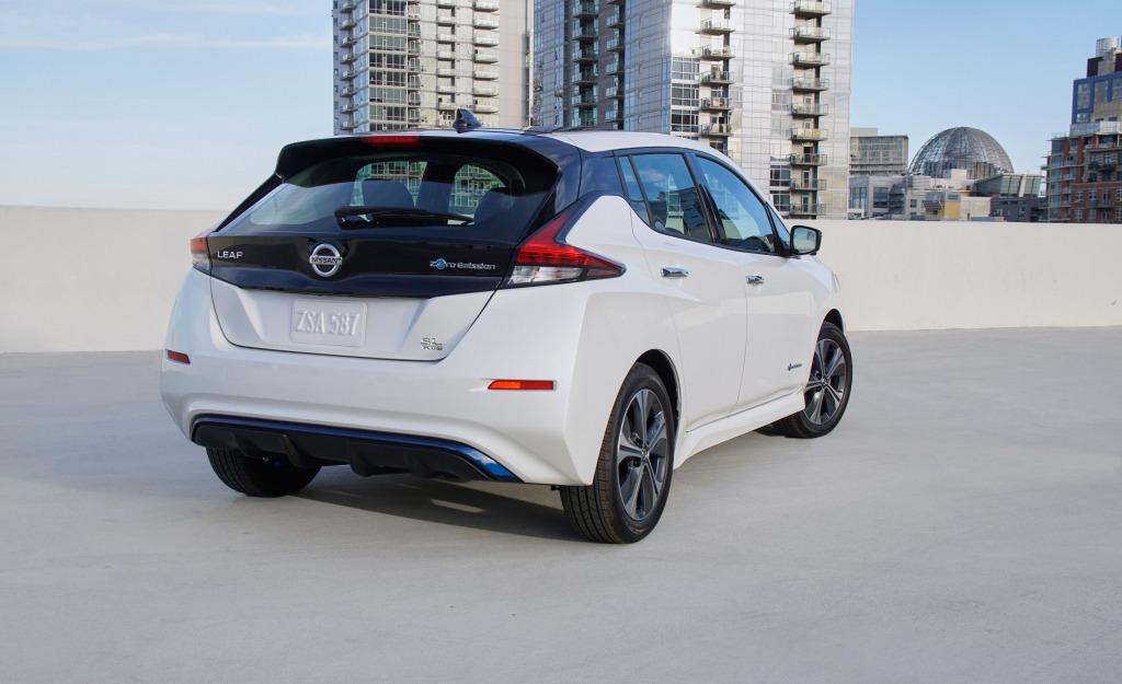 2023 Nissan Leaf Range Spy Shots