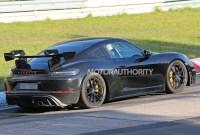 2023 Porsche Cayman Spy Photos