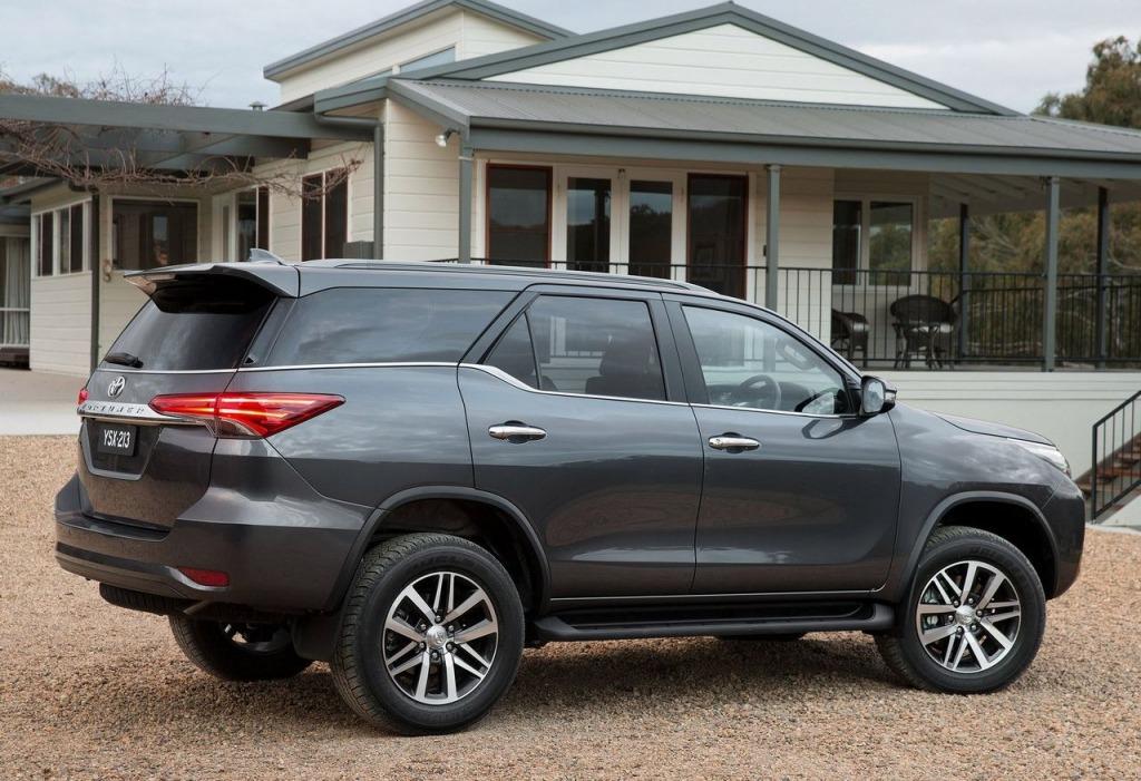 2023 Toyota Fortuner Exterior