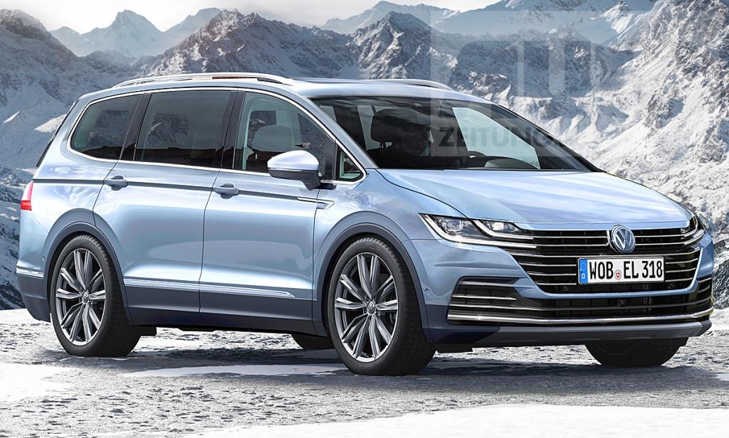 2023 Volkswagen Sharan Interior