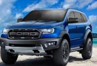 2023 Ford Everest Spy Photos