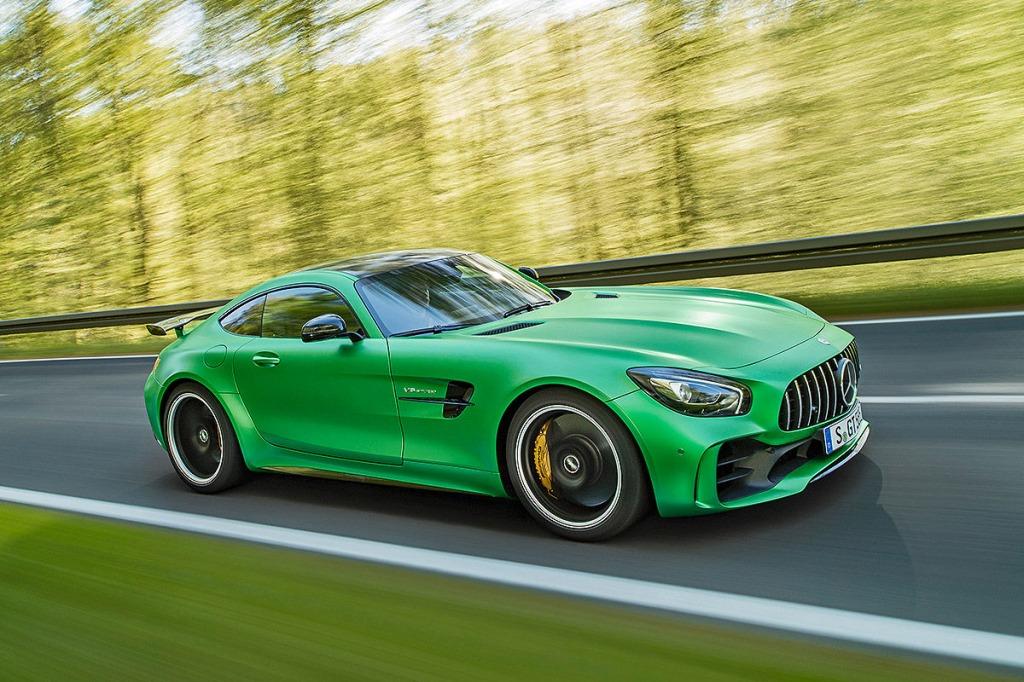 2023 Mercedes AMG GT Engine
